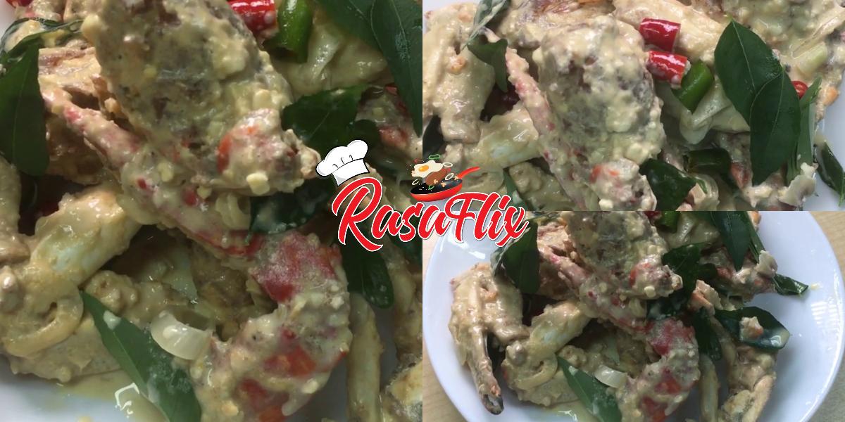Resepi Ketam Mentega Telur Masin I Salted Egg Buttermilk Crab Recipe