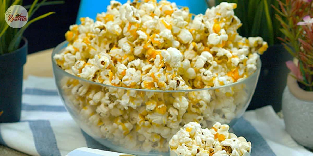 Resepi Bertih Jagung Karamel Rangup | Crunchy Caramel Popcorn Recipe - RasaFlix