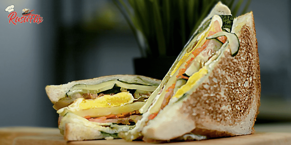 Resepi Sandwic Wanpaku Telur | Egg Wanpaku Sandwich Recipe