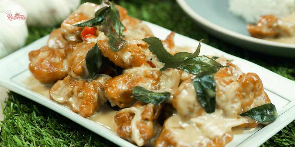 Resepi Ayam Buttermilk Pekat Berkrim   Creamy Buttermilk Chicken Recipe - RasaFlix