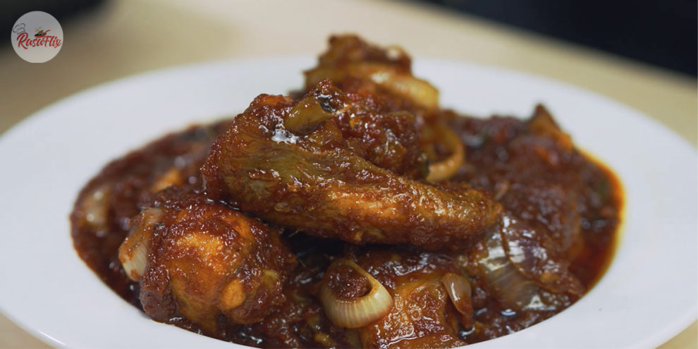 Resepi Ayam Masak Merah | Malay-Style Red Cooked Chicken Recipe
