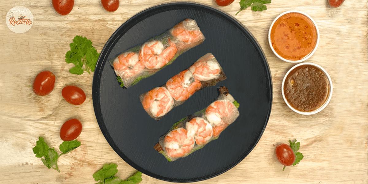 Resepi Popia Vietnam Sos Padu | Vietnamese Spring Roll & Best Sauce Recipe