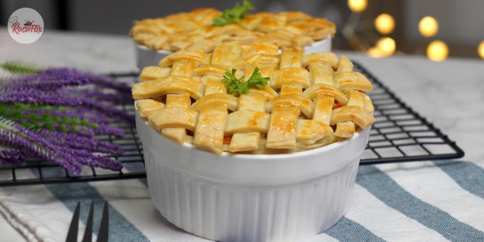 Resepi Pai Ayam Lazat | Scrumptious Chicken Pot Pie Recipe