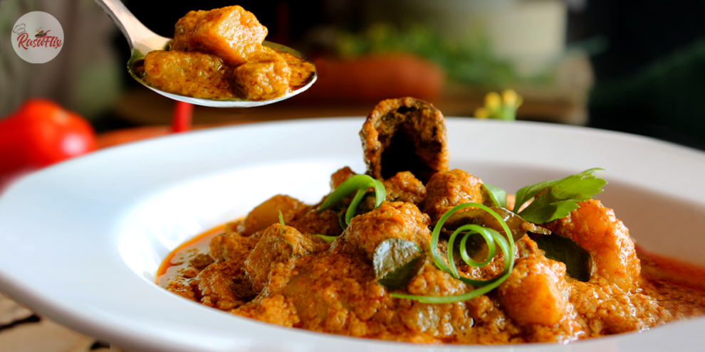 Resepi Kari Ayam Pekat Lazat | Delicious Thick Chicken Curry Recipe