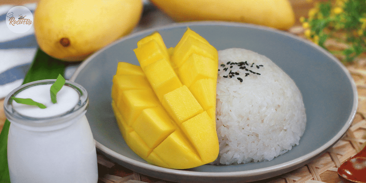 Thai Style Sweet Mango Sticky Rice Recipe