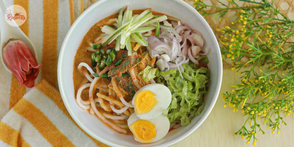 Resepi Laksa Sardin Mudah & Sedap | Easy & Delicious Laksa Sardine Recipe - RasaFlix