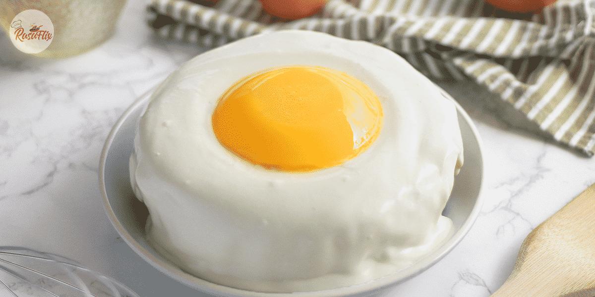 Amazing Fried Egg Cake Recipe