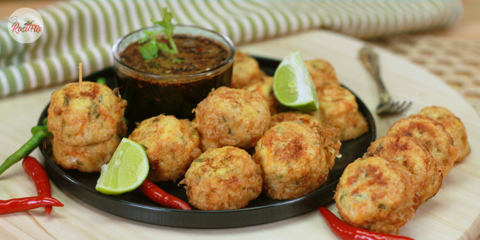 Resepi Tauhu Berlauk & Sambal Kicap | Tofu Chicken Nuggets Recipe