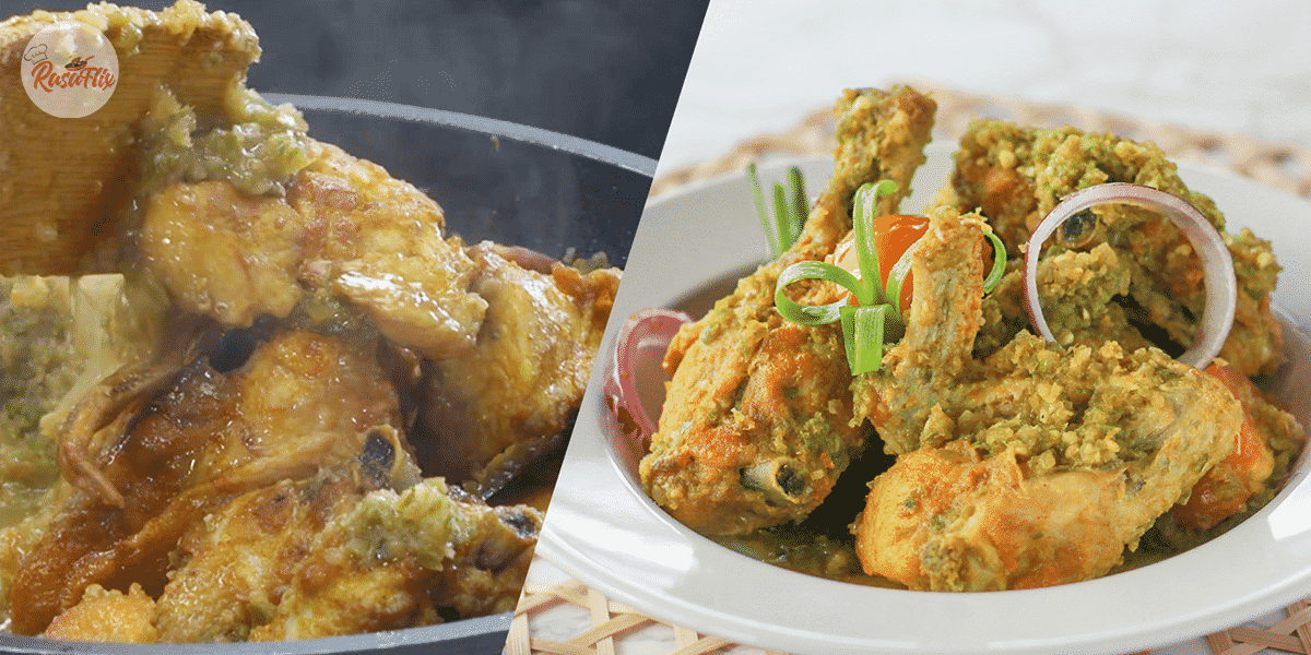 Spicy Green Chili Fried Chicken Recipe, Never Enough Perfect With Hot Rice