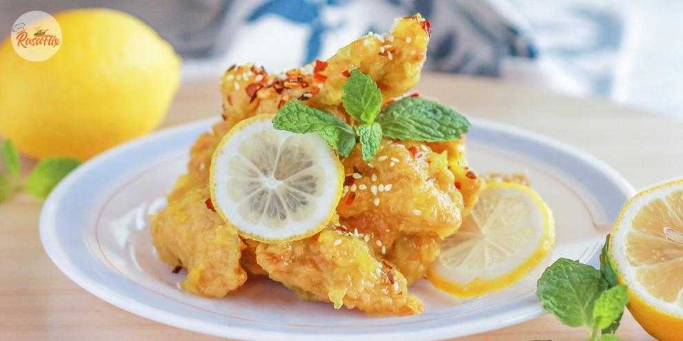 Irresistible Sweet & Sour Flavor, Crispy Honey Lemon Chicken Recipe