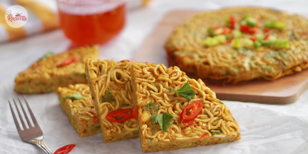 Chicken Murtabak Maggi Recipe, Simple but Surely Tasty!