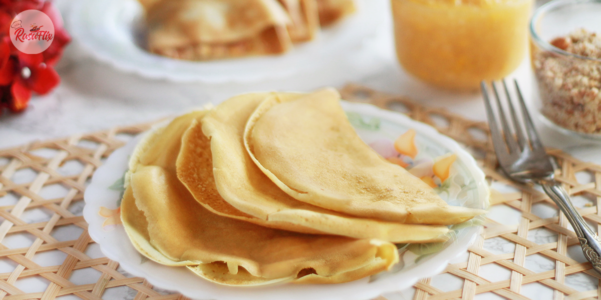 Crispy 'Apam Balik' Simple Recipe, Malaysian Night Market Style