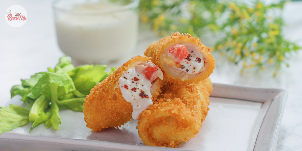 Indonesian Style Chicken Rissole Recipe, Crispy & Juicy At The Same Time!
