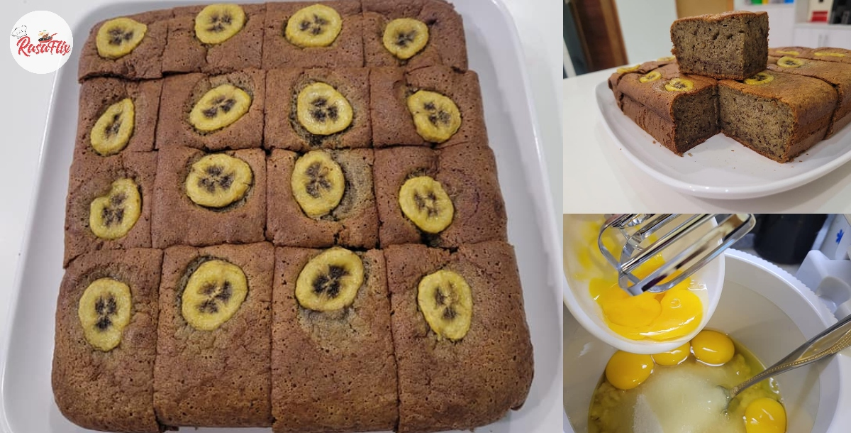Simple Banana Cake Recipe At Home, Sweet & Fluffy To Perfection