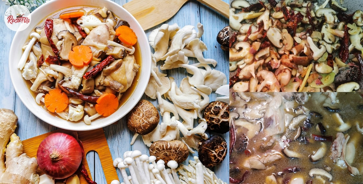 Indulging New Flavor With This Delicious Chinese Chicken Mushroom Recipe