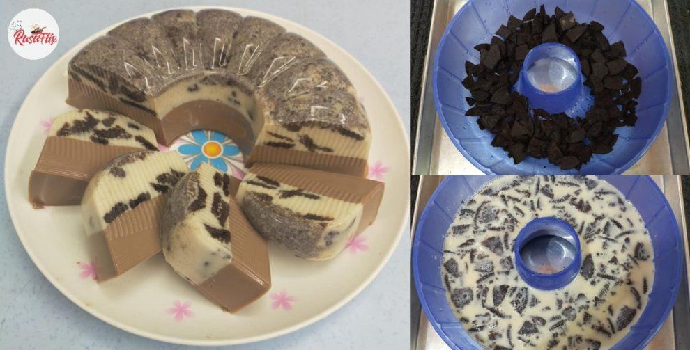 Easy Oreo & Milo Pudding Recipe, Scrumptious Dessert To Complete Your Menu
