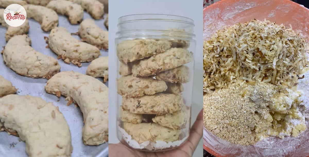 Flaky Biskut Kelapa, Easy Peasy Recipe That Recalls Raya Memories
