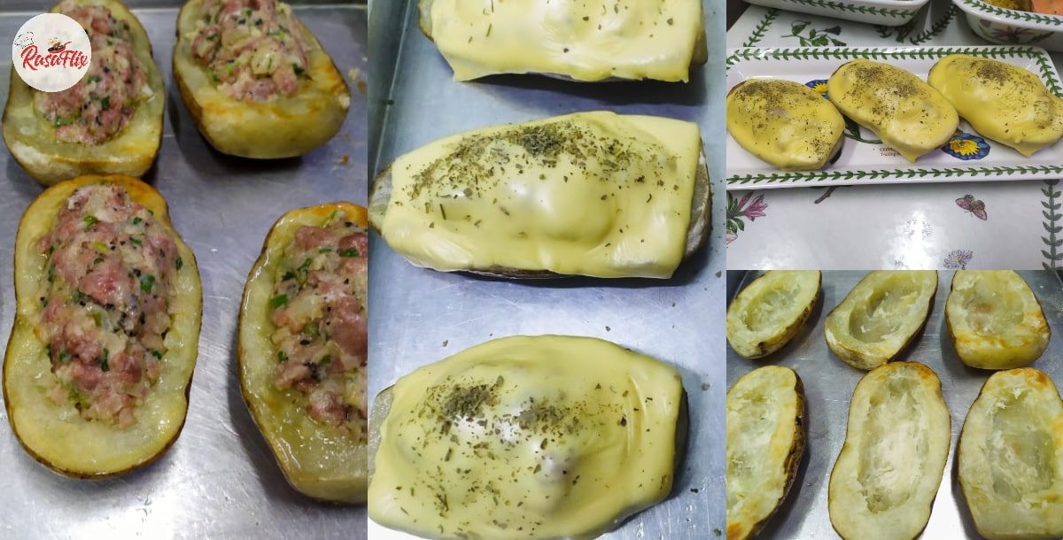 Super Easy & Yummy Beef-Stuffed Baked Potatoes Recipe For Random Cravings!
