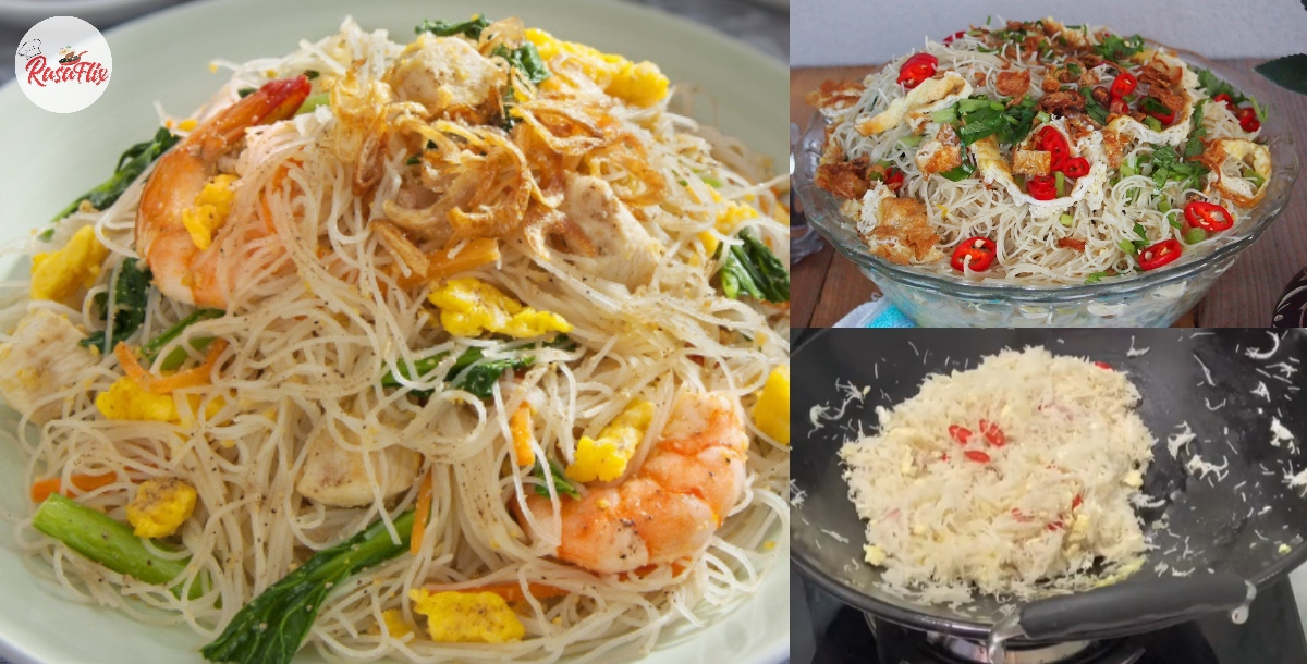 Make The Easiest Singapore Fried Bee Hoon Recipe, Ready In Five Minutes!