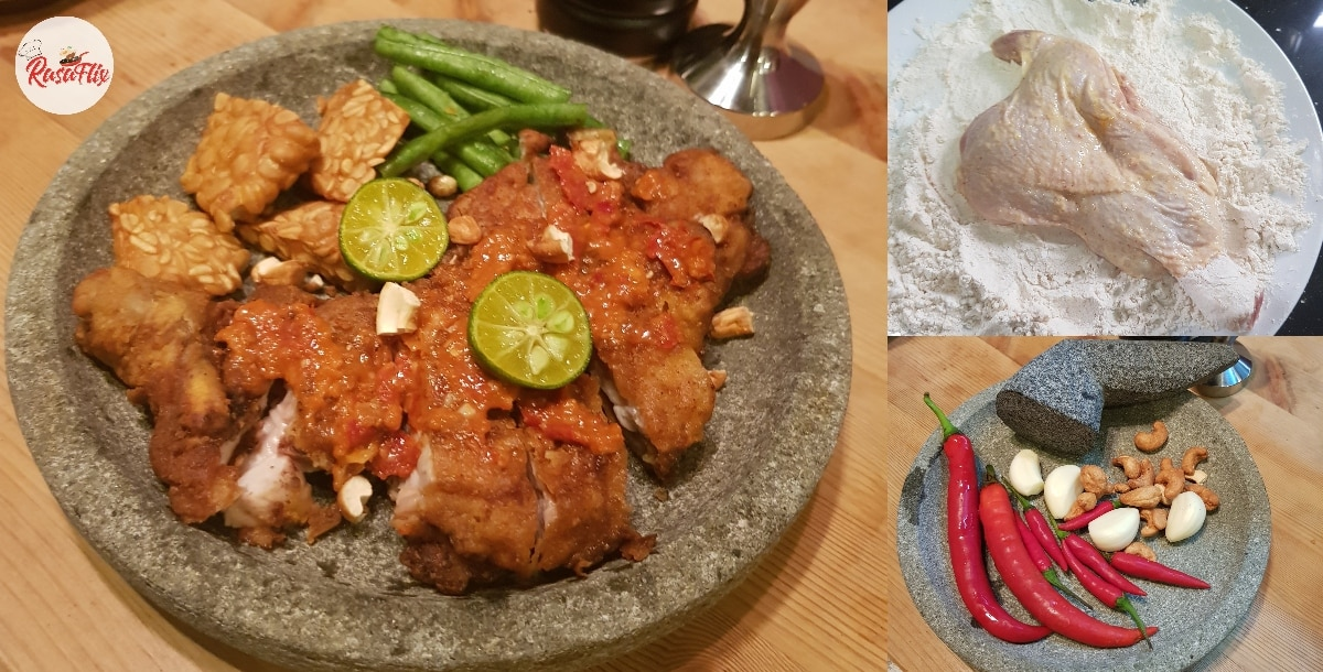 Simple But Special Ayam Geprek Recipe, Great Weekend Dish With Family