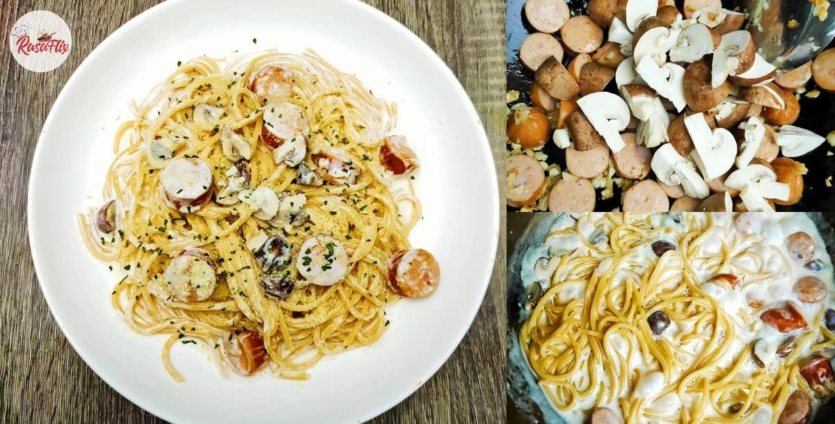 Homemade Creamy Carbonara, Exceptional Restaurant-Worthy Recipe