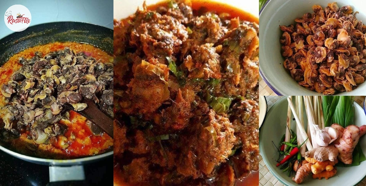 Let's Try Spicy Rendang Kerang, A Special Eid Recipe During This MCO