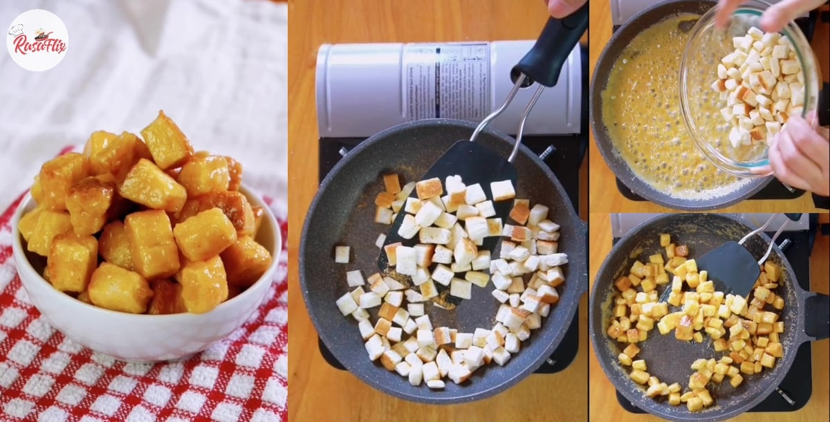 Caramel Bread Popcorn Recipe, Snacks That Will Make You Eat Non-Stop!